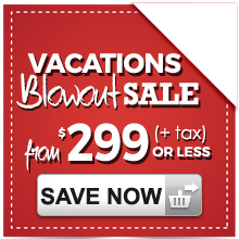 299 Vacations Blowout