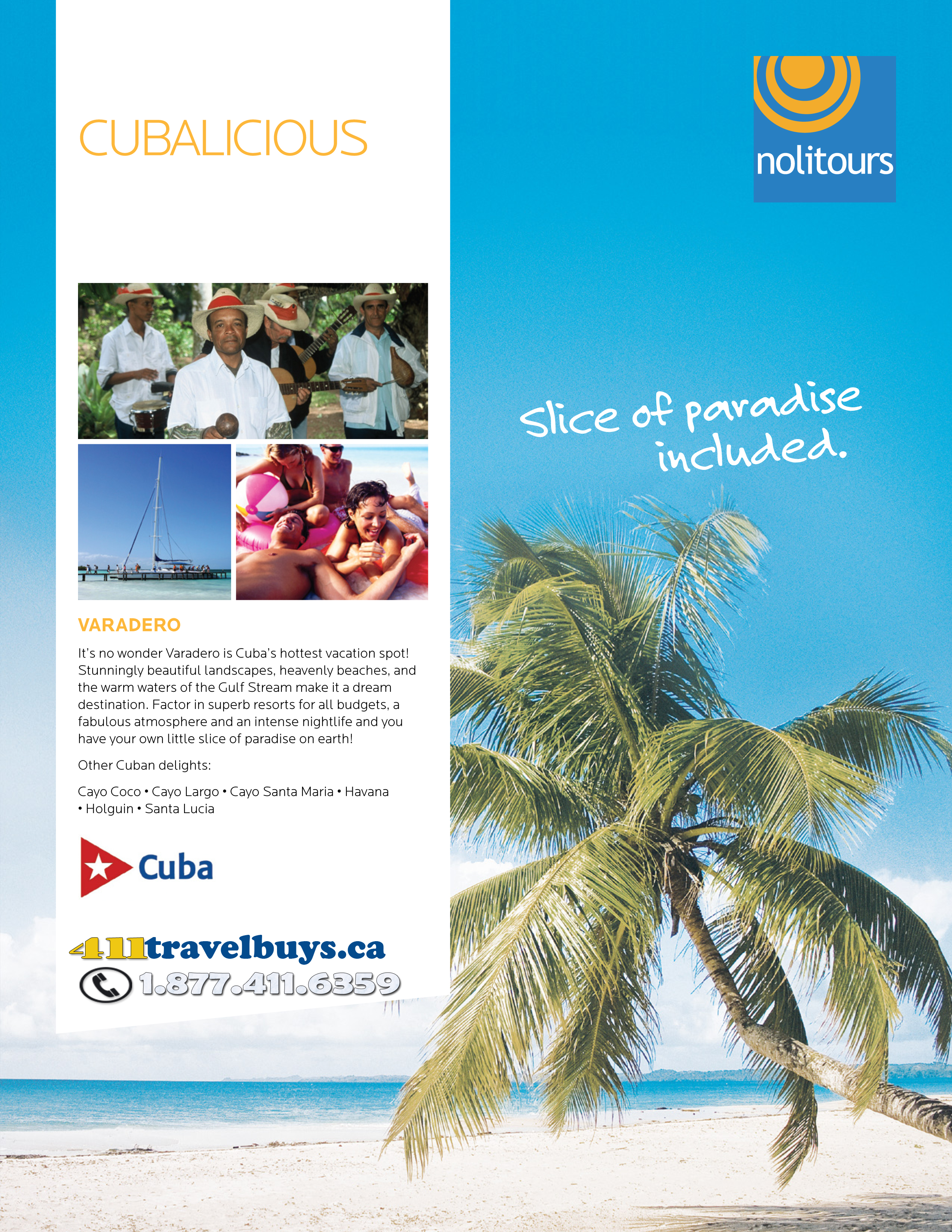 Nolitours' Travel Deals