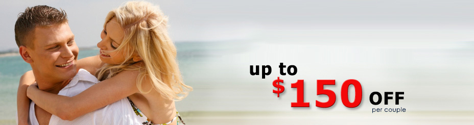 early holiday offers - save up to $150 per couple with 411travelbuys