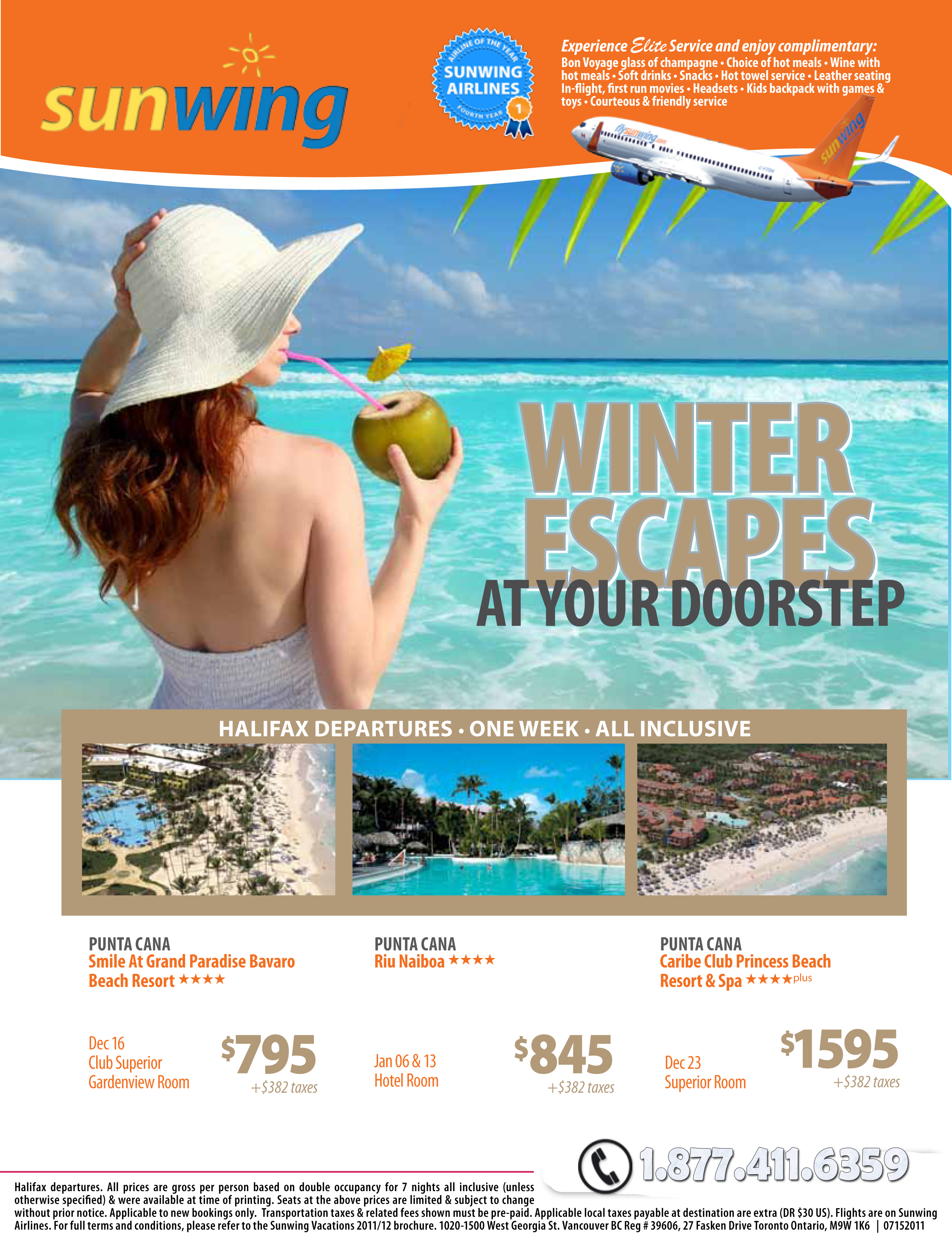 Sunwing Vacations Winter Escapes With Sunwing Vacations