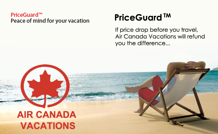 70d35cac946a71 Air Canada Vacations  PriceGuard™