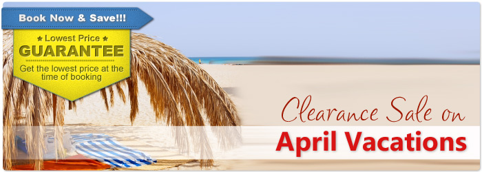April 2018 Vacation Deals April Vacation Packages Cheap Spring Escapes 411travelbuys Ca