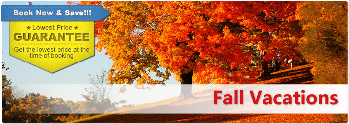Fall vacations from canada last minute fall vacation for Best vacation deals in december