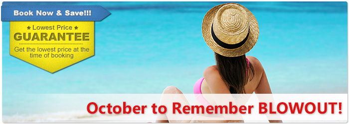 October 2017 vacation deals last minutes october for Vacation destinations in october