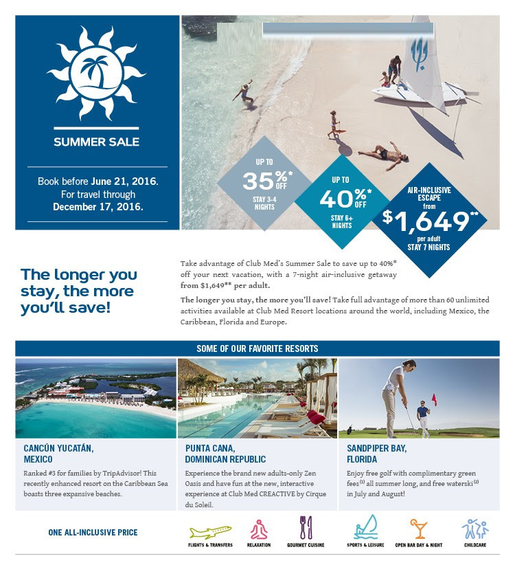 Panama Vacations All Inclusive Packages: Club Med All-inclusive Resorts